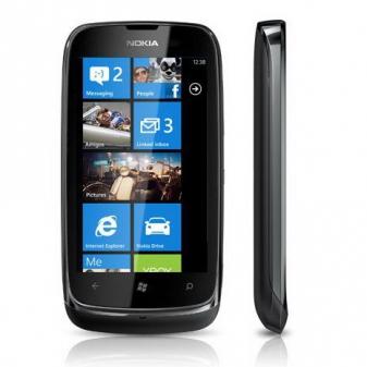 Диагностика Nokia Lumia 610