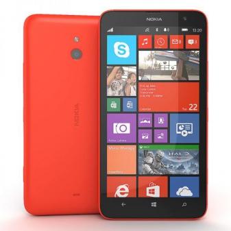 Диагностика Nokia Lumia 1320