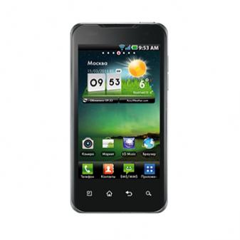 Восстановление ПО (прошивка) LG Optimus 2X